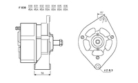 ALTERNATORE CA136IR A030
