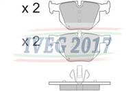 SERIE PASTIGLIE POSTERIORI BMW Serie 3/E90 Berlina (05-) 210371